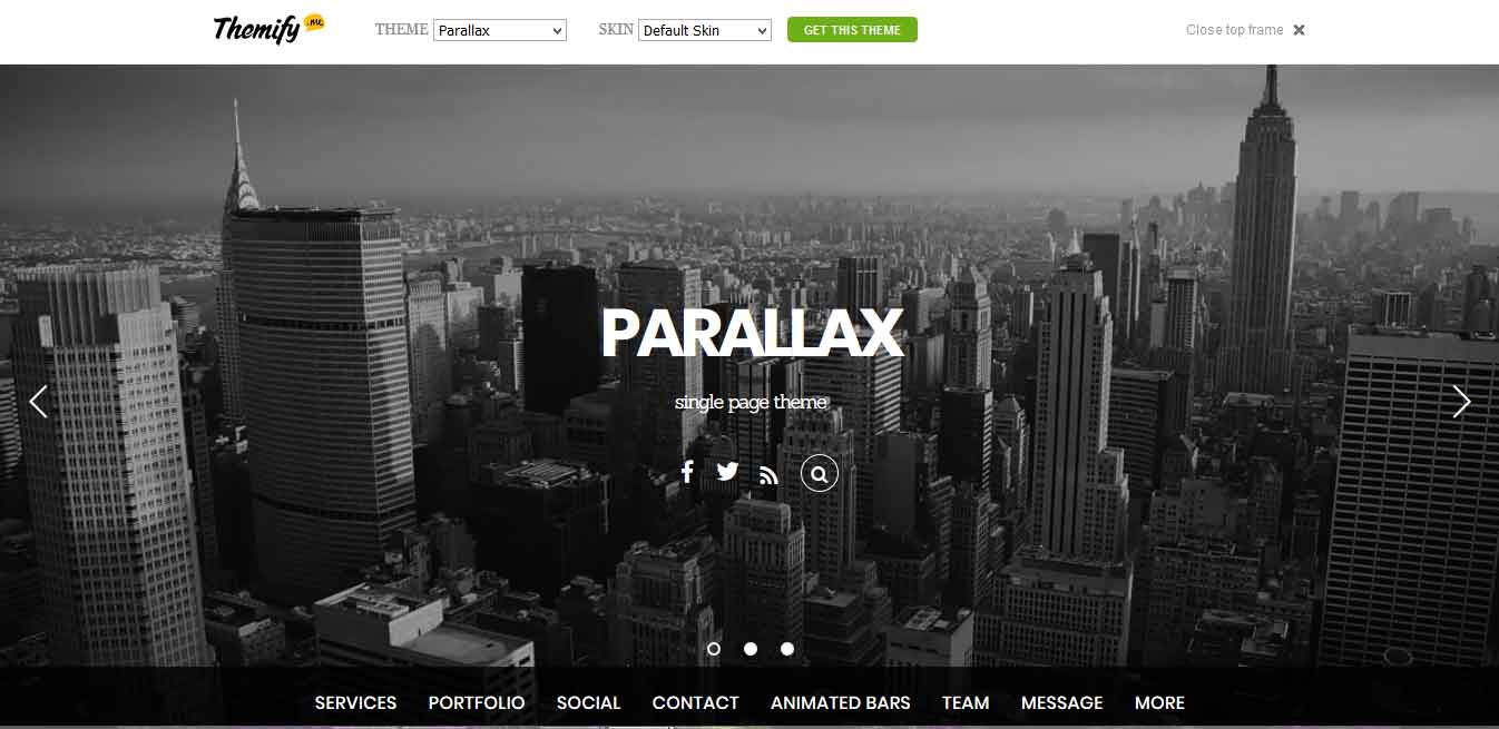 parallax-wp-theme