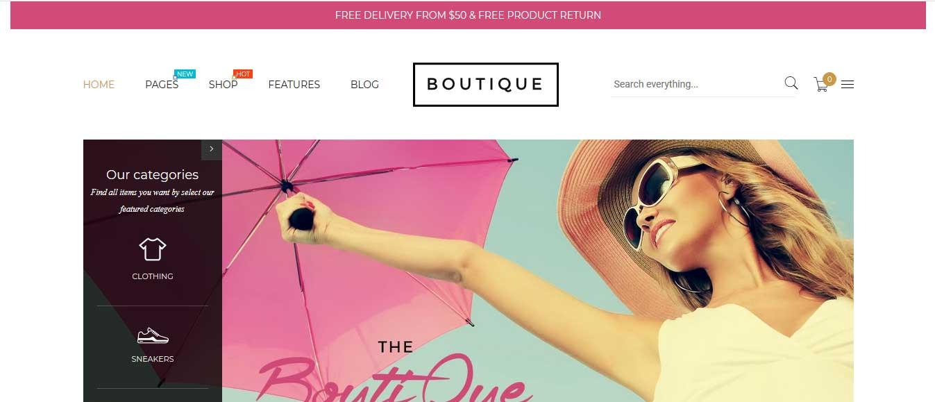 Boutique-Shopify-Theme