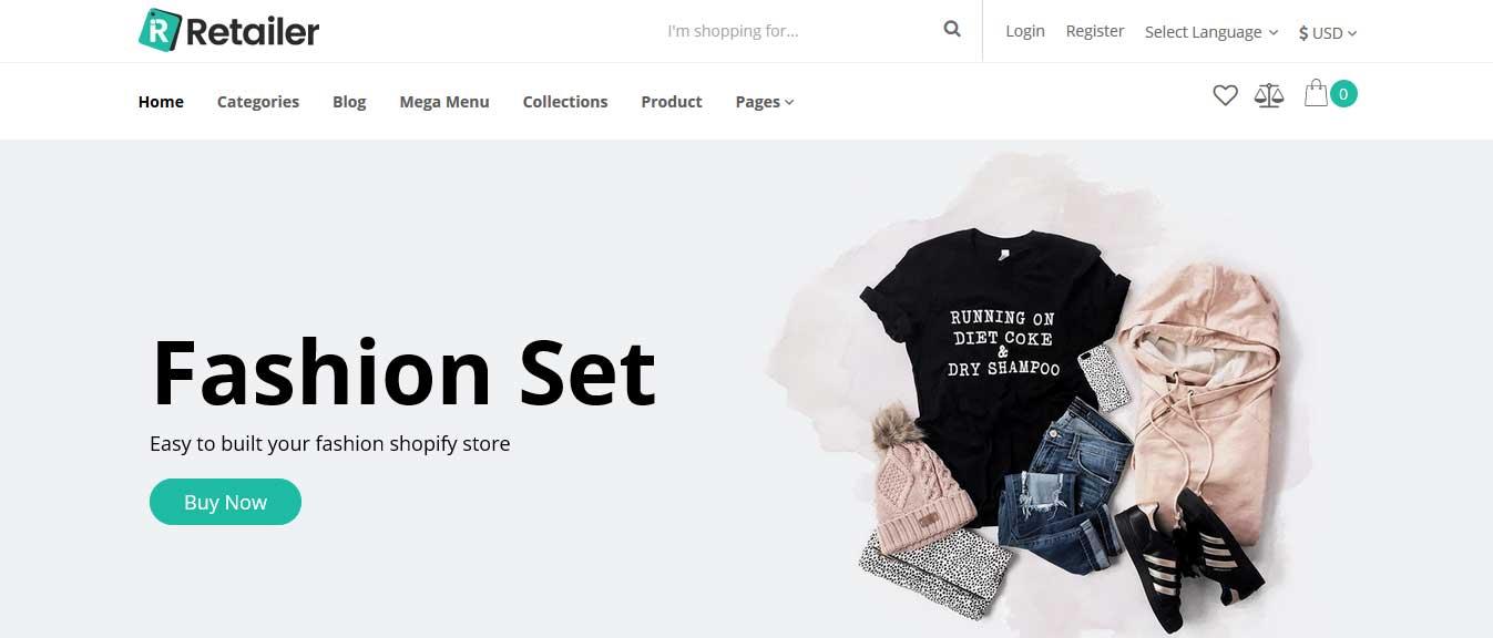 Retailer-Shopify-Theme