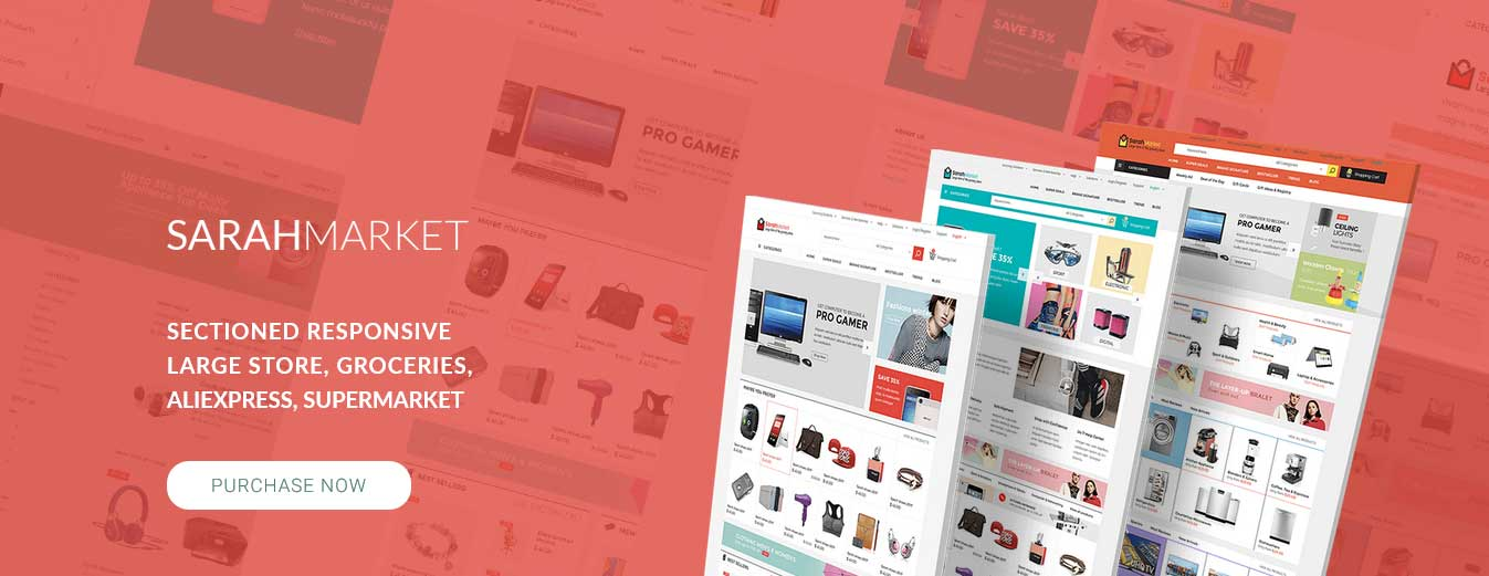 SarahMarket Theme for Shopify