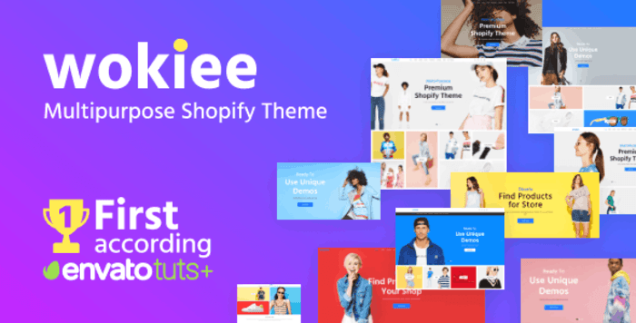 Wokiee multipurpose shopify theme